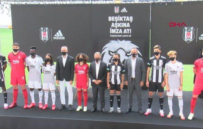 Beşiktaş yeni sezon formalarını tanıttı | Video
