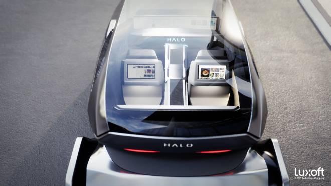 Geleceğin otomobil kokpitine Amazon ve LG ortaklıklı çözümler; Luxoft Halo ile tanışmaya hazır olun