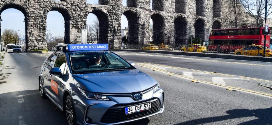 Önemli haber; sürücüsüz otomobil İstanbul yollarında