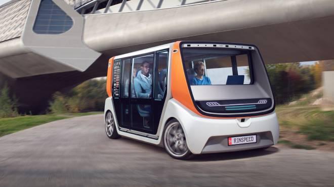 Pod merkezli ulaşım geleceği için yeni vizyon; RinSpeed MetroSnap ile tanışın