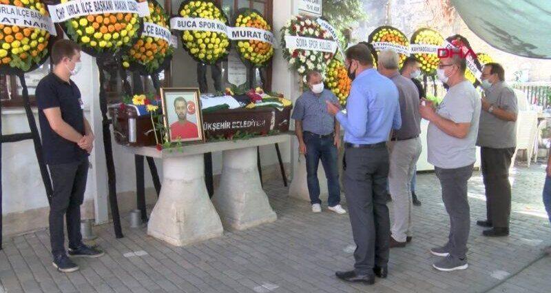 Trafik kazasında ölen futbolcu Melih Vardar'a son görev | Video